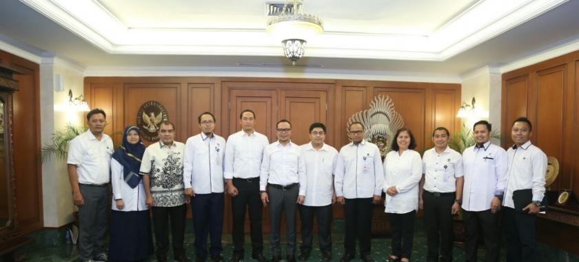 Kunjungan Perwakilan dari Muara Enim, Sumatera Selatan