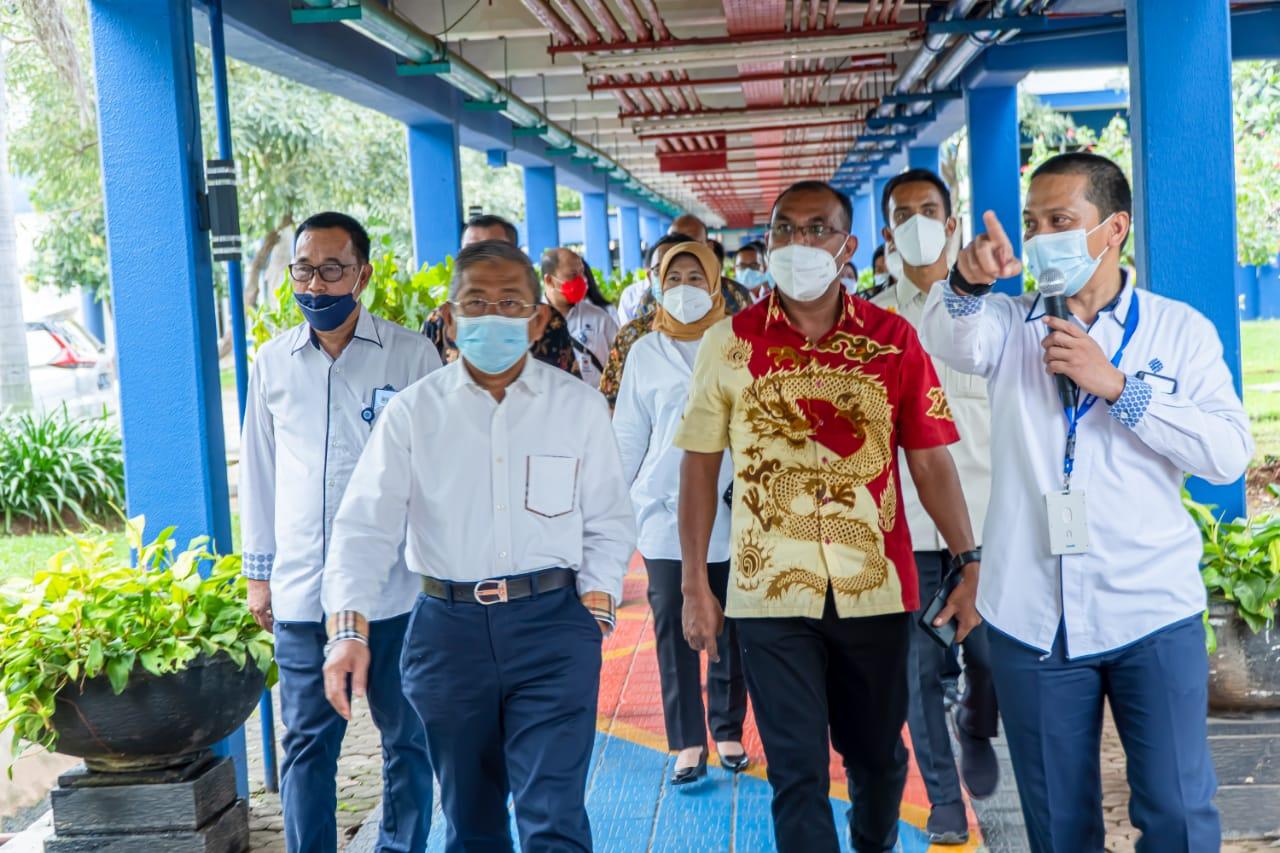 Gubernur Sulbar Ali Baal Merasa Bersyukur Bisa Kunjungi BBPLK Bekasi, Sudah Lama Ia Inginkan