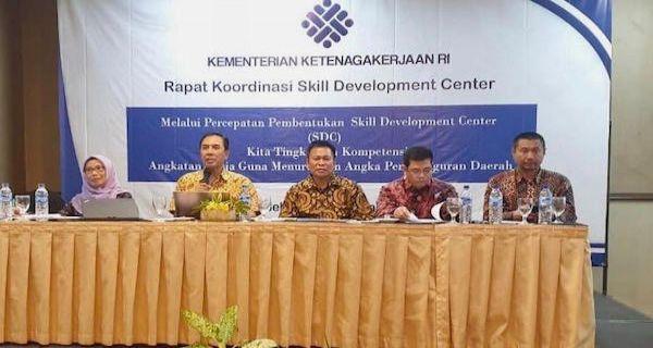 Kemnaker Menginisiasi Pendirian Pusat Pengembangan Keterampilan di Daerah
