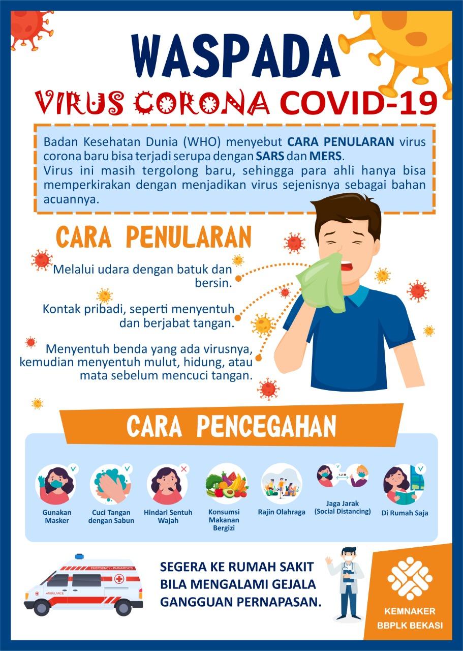 Mari Kita Cegah Penyebaran Virus Corona