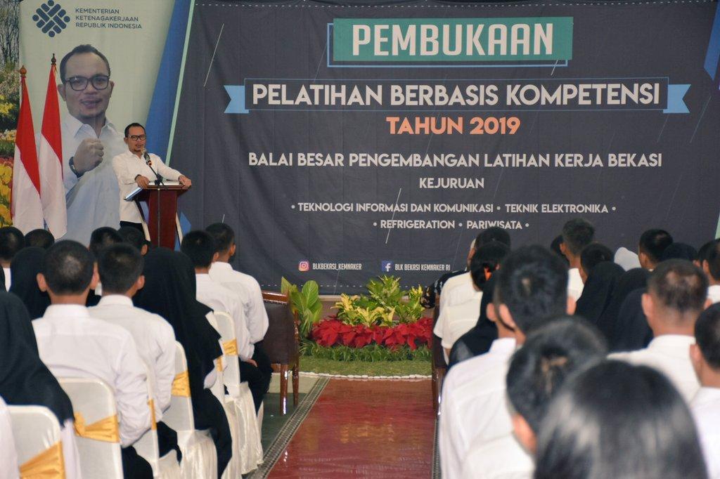 Menaker Berharap PBK Bisa Meningkatkan Kualitas Karakter dan Kompetensi