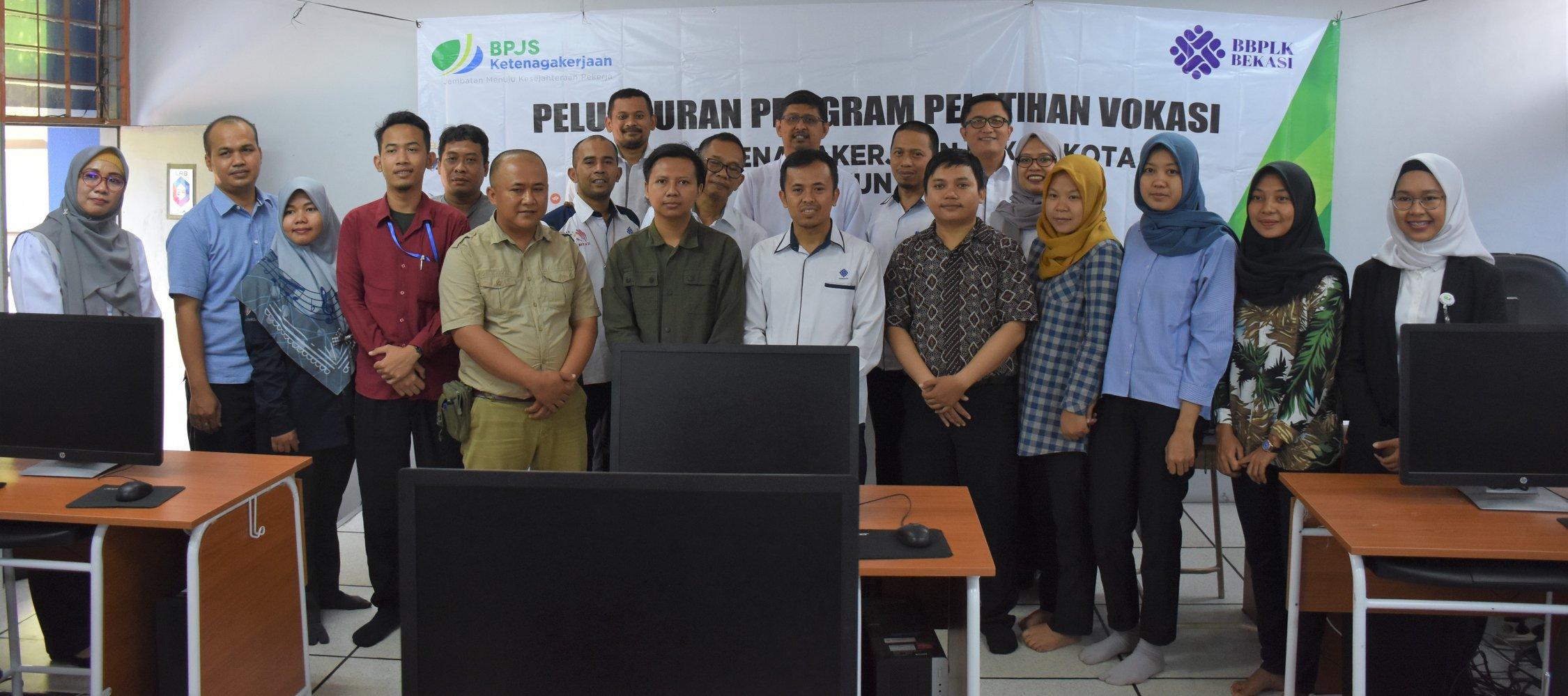 Peluncuran Pelatihan Vokasi BPJS Ketenagakerjaan Bekasi Kota