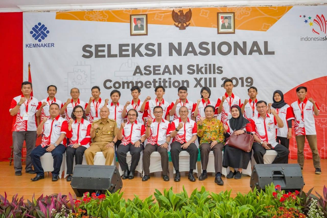 Seleknas Calon Kompetitor ASC ke–XIII Resmi Dibuka