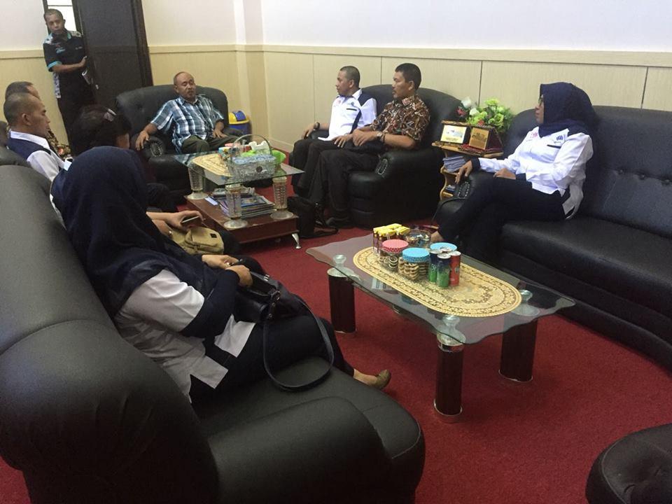 Kunjungan Kerja BBPLK Bekasi ke BLK Ternate