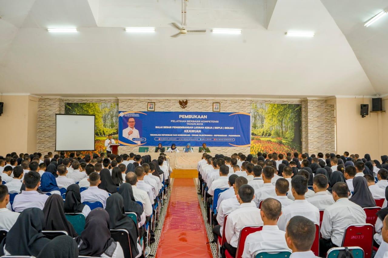 1000 Peserta ikuti Pelatihan di BBPLK Bekasi