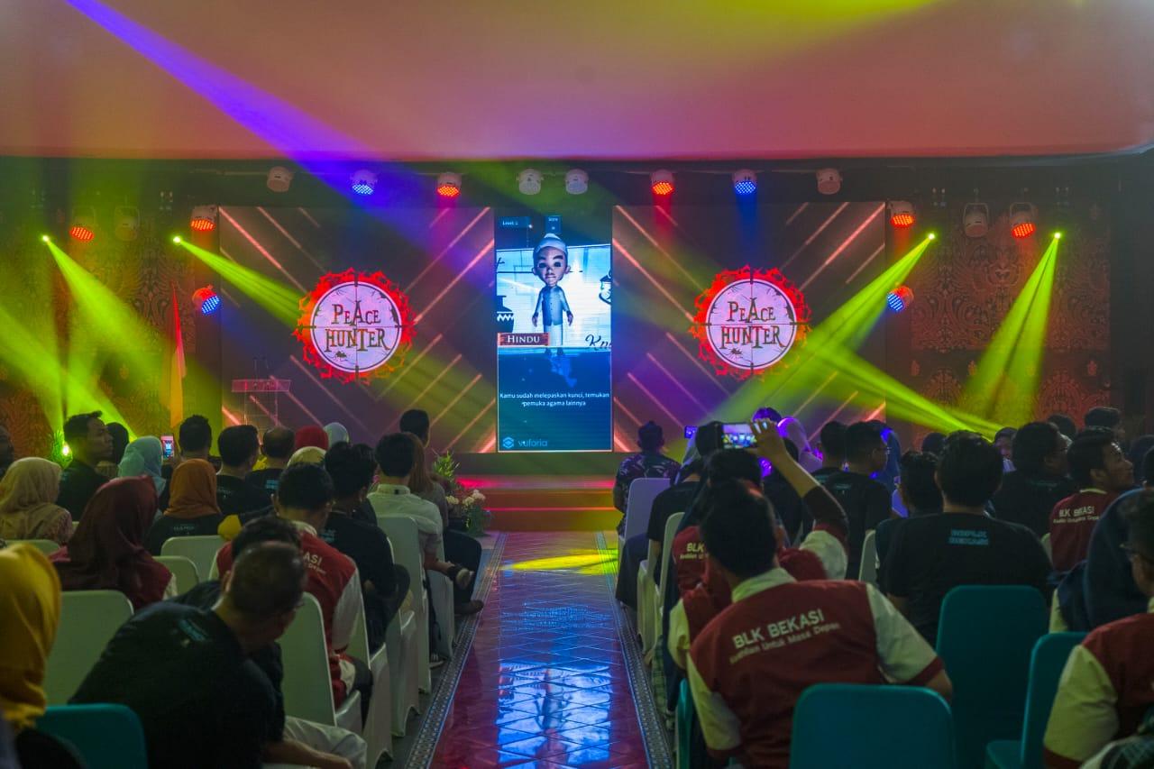 Kemnaker Launching Film dan Games Animasi Karya Siswa BBPLK Bekasi