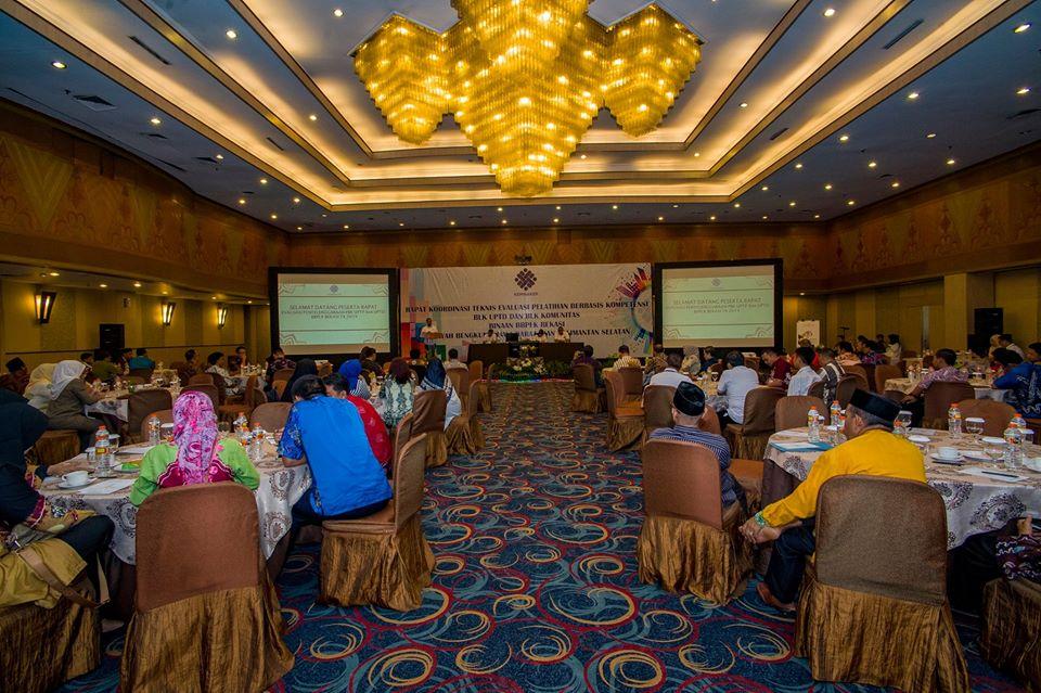 Rakor Teknis Evaluasi PBK BLK UPTD dan BLK Komunitas BBPLK Bekasi