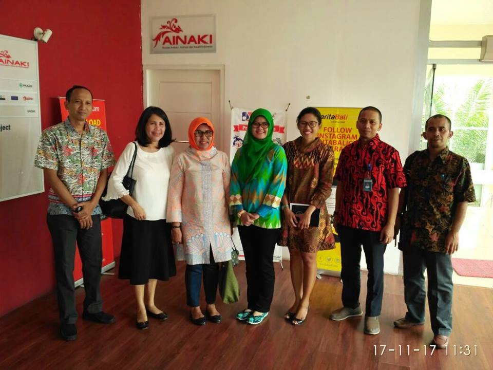 Studi Banding Bersama AINAKI ke Balai Diklat Industri Bali
